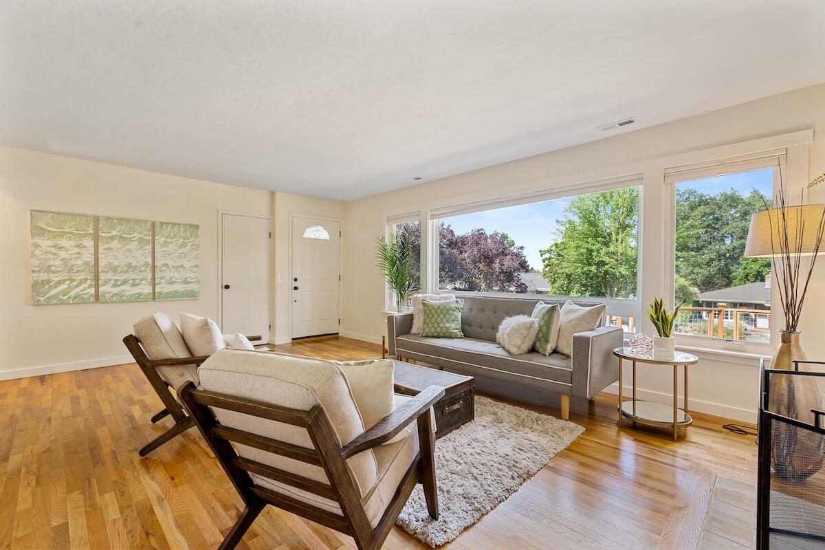 clean floor living room