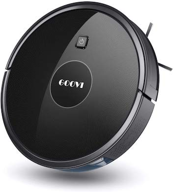 goovi robot vacuum for pet hair