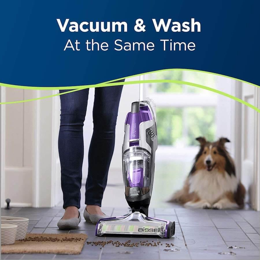 bissel crossware pet pro vacuum and wash