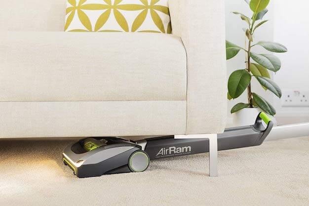 bissell air ram under sofa
