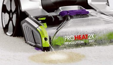bissell proheat 2x cleanshot carpet