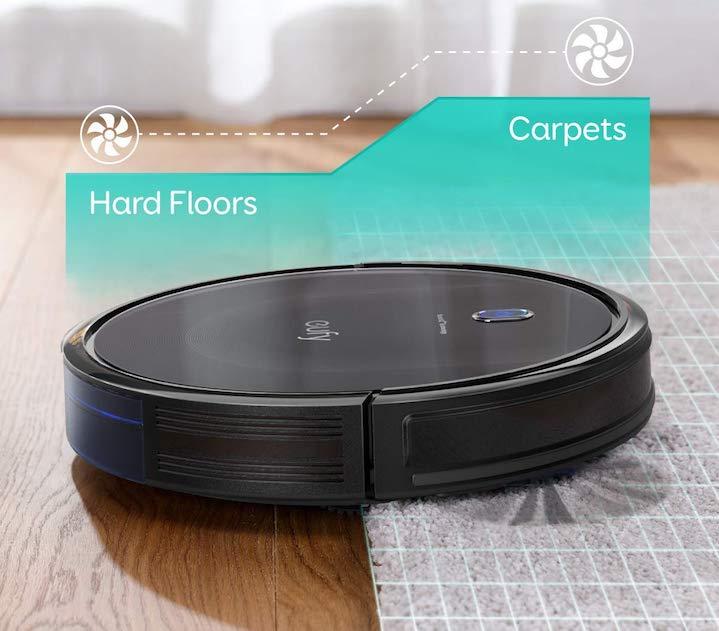 eufy 11s hardwood floors carpet 1