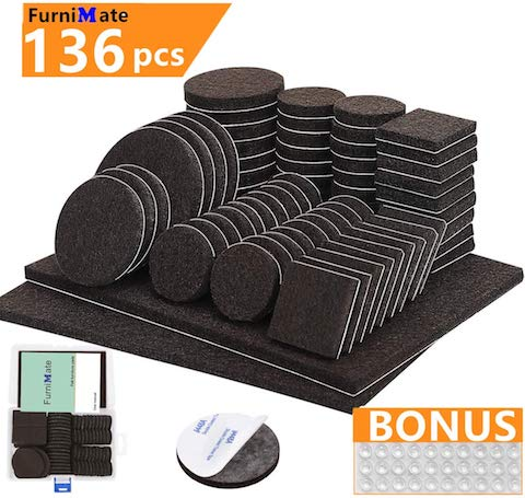 furniture pads 136 pieces