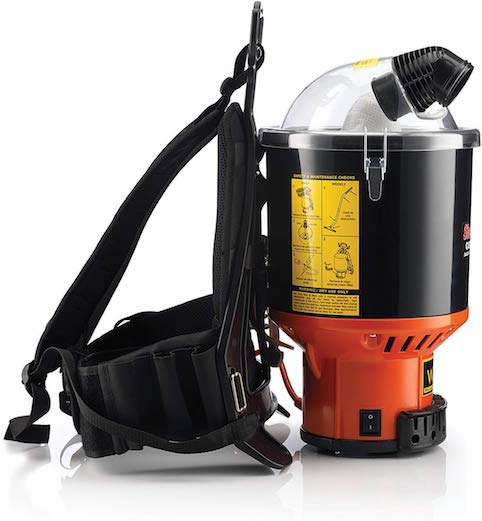 hoover commercial lightweight backpack vacuum review